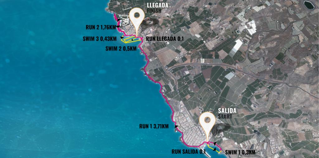 SwimRun Series Tenerife SuperSprint